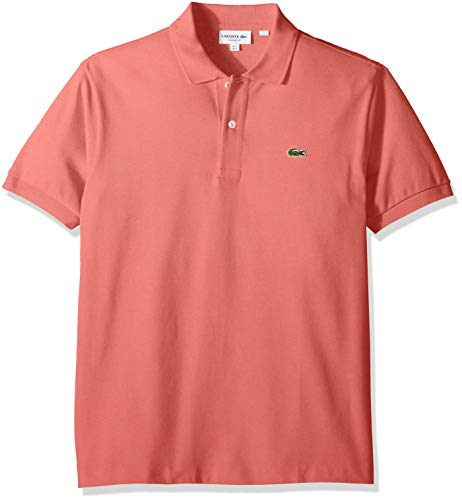 Lacoste Men's Classic Short Sleeve L.12.12 Pique Polo Shirt,Amaryllis Pink,XX-Large (Polo Shirt Lacoste)