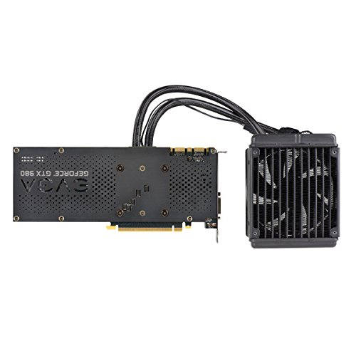 EVGA GeForce GTX 980 4GB HYBRID GAMING, ''All in One'' No Hassle Water Cooling, Just Plug and Play Graphics Card 04G-P4-1989-KR by EVGA (Image #6)