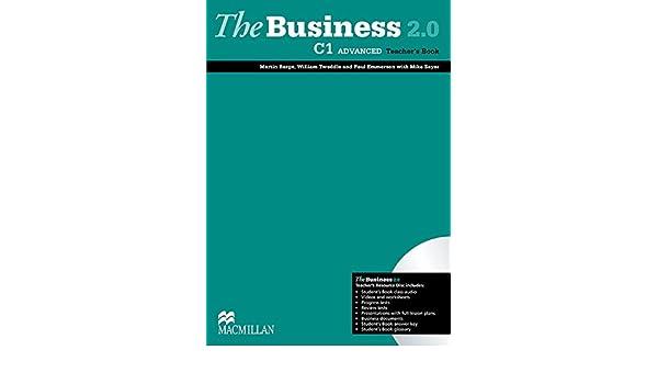 The Business 2.0 Advanced Level Teachers Book Pack: Amazon.es: Barge, Martin, Tweedle, William, Emmerson, Paul: Libros en idiomas extranjeros