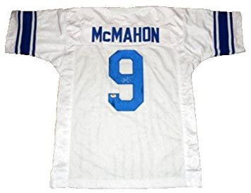 buy online e2fe2 987bb Jim McMahon Autographed Jersey - BYU COUGARS #9 WHITE ...