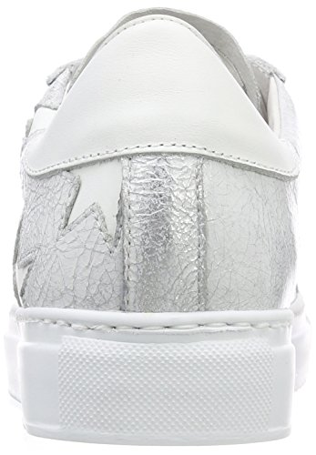 Sneaker silver Ginnastica Multicolore white Da Basse Scarpe Donna Stokton 1wzTz