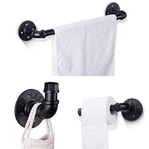 Elibbren Industrial Pipe Bathroom