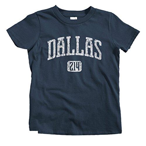(Smash Transit Kids Dallas 214 T-Shirt - Navy, Toddler 4T)