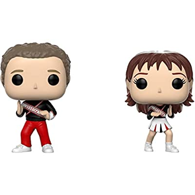 Funko Spartan Cheerleaders: Saturday Night Live x POP! SNL Vinyl Figure + 1 American TV Themed Trading Card Bundle [33112]: Toys & Games
