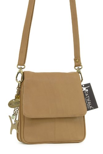 organizador Cuero Catwalk Tostado TEAGAN Bolso bandolera COLLECTION 7wnSTq8
