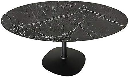 Kartell Tavoli Da Pranzo.Kartell Multiplo Tavolo Da Pranzo Rotondo Gres Nero Finitura