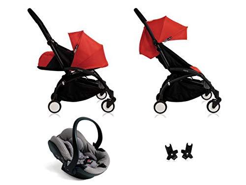 tienda en linea Babyzen Poussette Yoyo+ complète Cadre negro habillages 0+ 0+ 0+ et 6+ rojo et siège Auto iZi Go Modular gris  vendiendo bien en todo el mundo