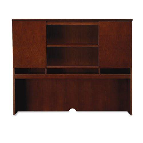 Mayline - Sorrento Series Assmbld Hutch w/Wood Doors, 72w x 15d x 52-1/2h, Bourbon Cherry SHA72SCR (DMi EA