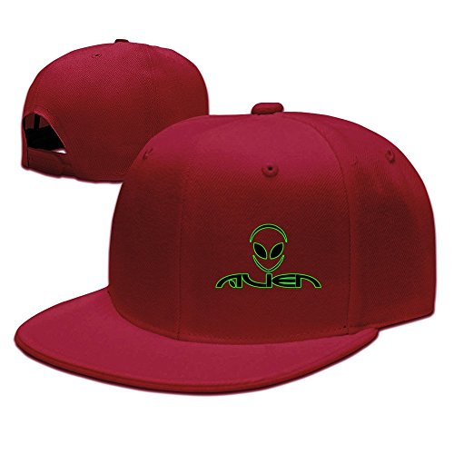 Costume Alien Best (MaNeg Alien Unisex Fashion Cool Adjustable Snapback Baseball Cap Hat One Size)