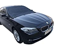 UOTJCNR Magnetic Windshield Snow Frost Ice Cover Sunshade Snow Covers with Magnet Edges Fits Most Car, SUV, Truck, Van or Automobile