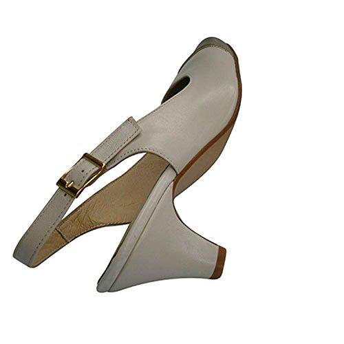 Chaussure Fermé Ouvert La Multicolore Metallic Pomares À En Bout De Talon Vazquez Femme 8qXIIwvB