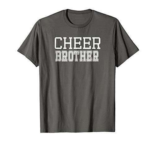 Cheer Brother Tshirt Cheerleading Brother Gift Idea -