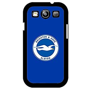 Fresh Blue Background Brighton & Hove Albion F.C Phone Case Cutomized Cover For Samsung Galaxy S3 I9300