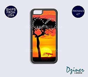iPhone 6 Case - 4.7 inch model - Sunset Hakuna Matata iPhone Cover