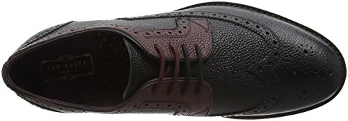 Black Dark Baker Red Scarpe 2 Vortle Ted Uomo Basse Black Brogue Stringate gSnzaa