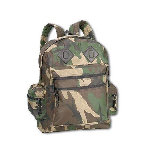 Go Commando Camo - 2334 Deluxe Waterproof Nylon Day Pack Green Camo