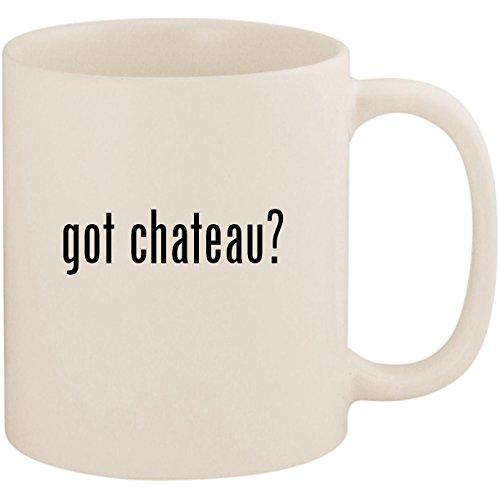 got chateau? - 11oz Ceramic White Coffee Mug Cup, White ()