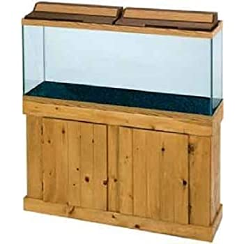 all glass aquarium aag53048 pine cabinet 48inch