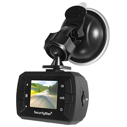 SecurityMan CARCAMMICRO – Dash Cam Surveillance and PC Cam