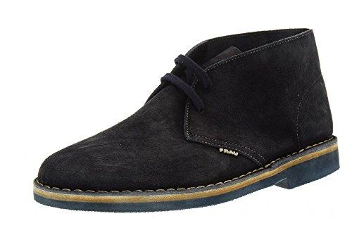 FRAU zapatos de hombre tobillo 25G3 AZUL Azul