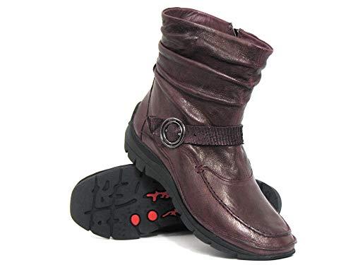 15 6 Grau 72 Ankle Softwaves Red Women Boots grau 0xxA8wXFq