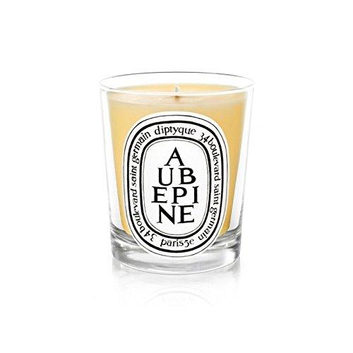 Diptyque Candle Aubpine / Hawthorn 190g (Pack of 6) - DiptyqueキャンドルAubpine/サンザシ190グラム (x6) [並行輸入品] B01MSOX7Z9