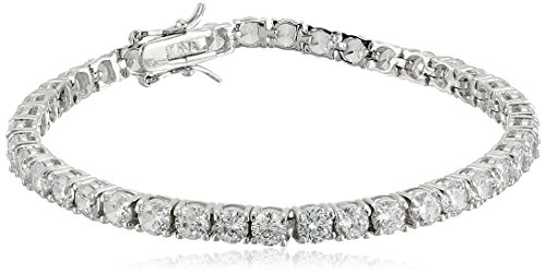 Kenneth Jay Lane Women s Round CZ Tennis Bracelet
