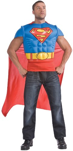 Rubies Superman Muscle Shirt Adult ()