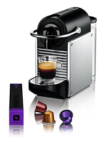 Large Product Image of Nespresso Pixie Original Espresso Machine by De'Longhi, Aluminum