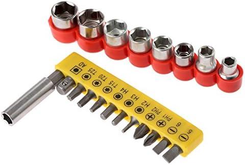 mtsooning Precision Torx Destornillador Bits Hex Socket magnético ...