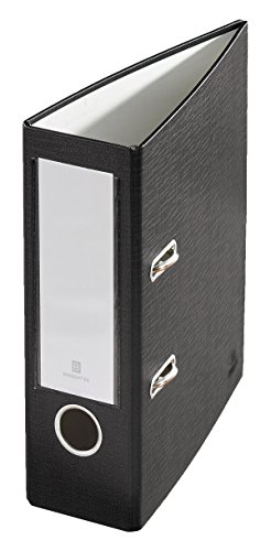Bindertek 2-Ring 3-Inch Premium Mini Binders, Black