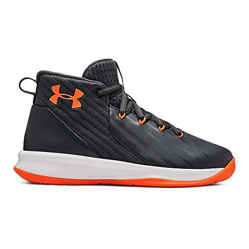 Under Armour Boys' Pre School Launch Basketball Shoe, White (100), 2