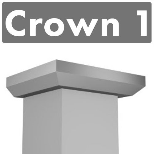 zline-crown-molding-profile-1-for-wall-mount-range-hood