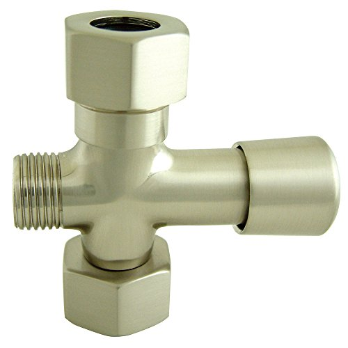 Kingston Brass ABT1060-8 Vintage Shower Diverter, 2-3/4-Inch, Brushed Nickel