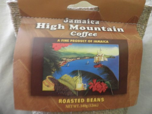 Island Blue 100% Jamaica High Mountain Coffee Beans (12oz)