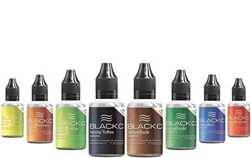 BLACKC Aroma-Konzentrat zum selber mischen von E-Liquid, 50ml Lebensmittel-Aroma für Selbstmischer von Liquid-Base für E…