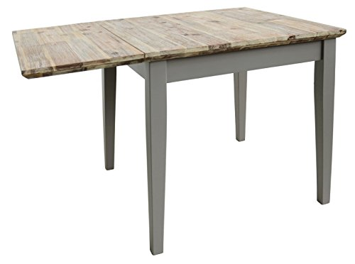 Florence Square Extended Table 75 110cm Quality Dove