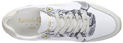 Pantofola dOro Teramo, Scarpe da Ginnastica Donna Avorio (Elfenbein (Marshmellow))