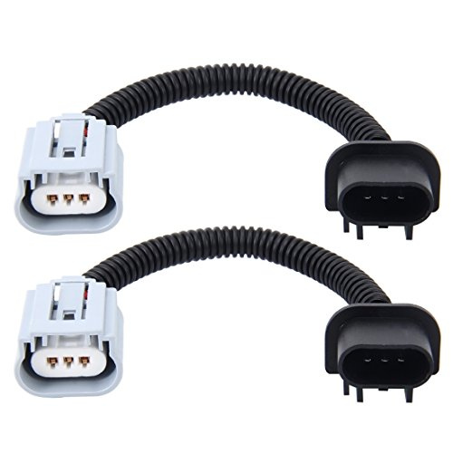 - Car Bulbs 2 PCS H13 Car HID Xenon Headlight Male to Female Conversion Cable with Ceramic Adapter Socket