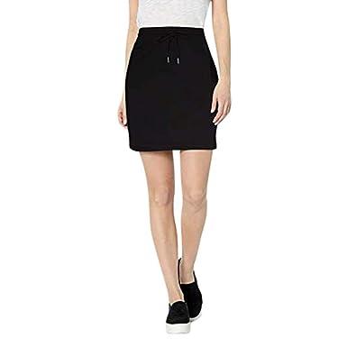 Mini Falda de Verano para Mujer con Cintura elástica y Vendaje ...