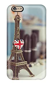ZippyDoritEduard Iphone 6 Well-designed Hard Case Cover Eiffel Tower Statue Protector