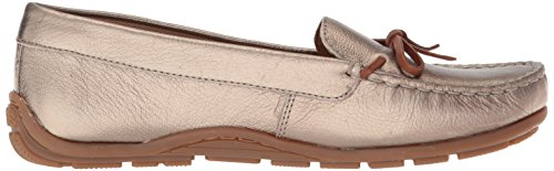 Loafer Style Dameo Women's Metallic Driving Swing CLARKS Leather Pewter wgf1xqaxn