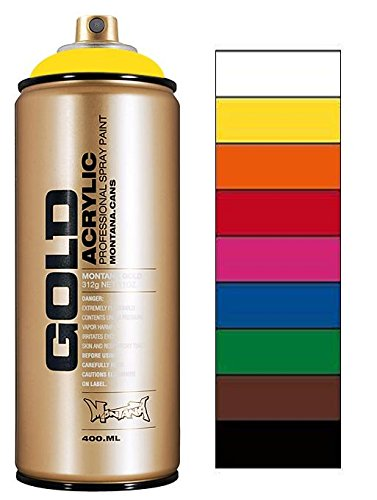 Montana Gold Spray Paint Pro Pack
