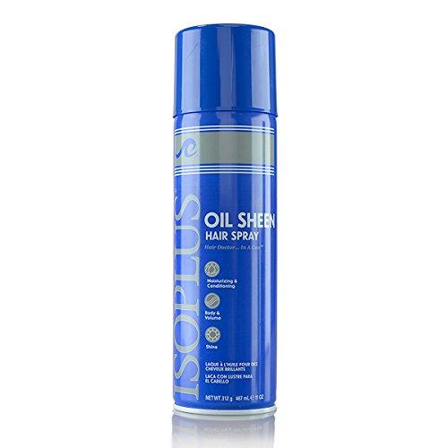 Isoplus Oil Sheen Hair Spray, 11 Ounce