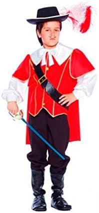 Guirca - Disfraz de Mosquetero para niño de 7 a 9 años: Amazon.es ...