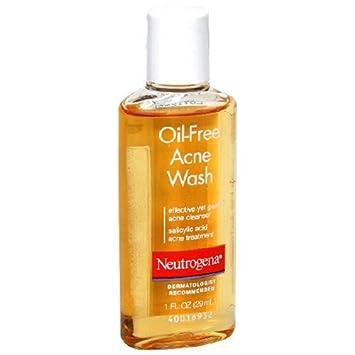 Amazon.com : Neutrogena Oil-free Acne Wash Travel Size 1 Oz ...