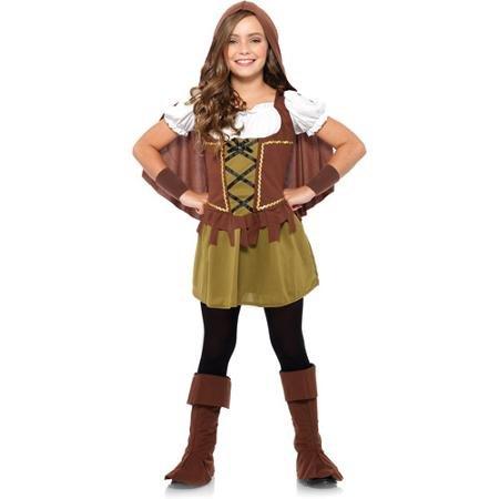 Wonderland Costumes: Sweetheart Robin Hood (Girl: MED 8-10) ()