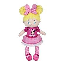 Kids Preferred Disney Baby Minnie Mouse Doll Blonde Plush