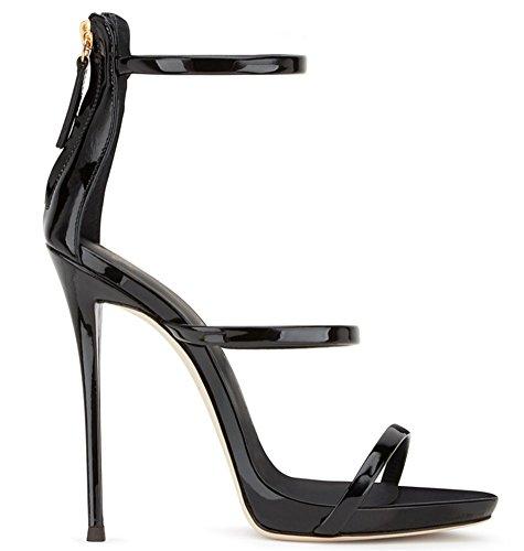 Donna Con Misura Da Sandalo A Gold Alto Estivo Tacco Spillo Nvxie 34 45 AqXwU6a