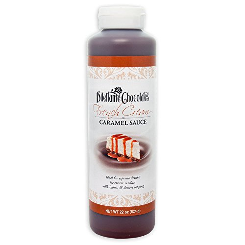 French Cream Caramel Sauce - All Natural, 22oz - by Dilettante